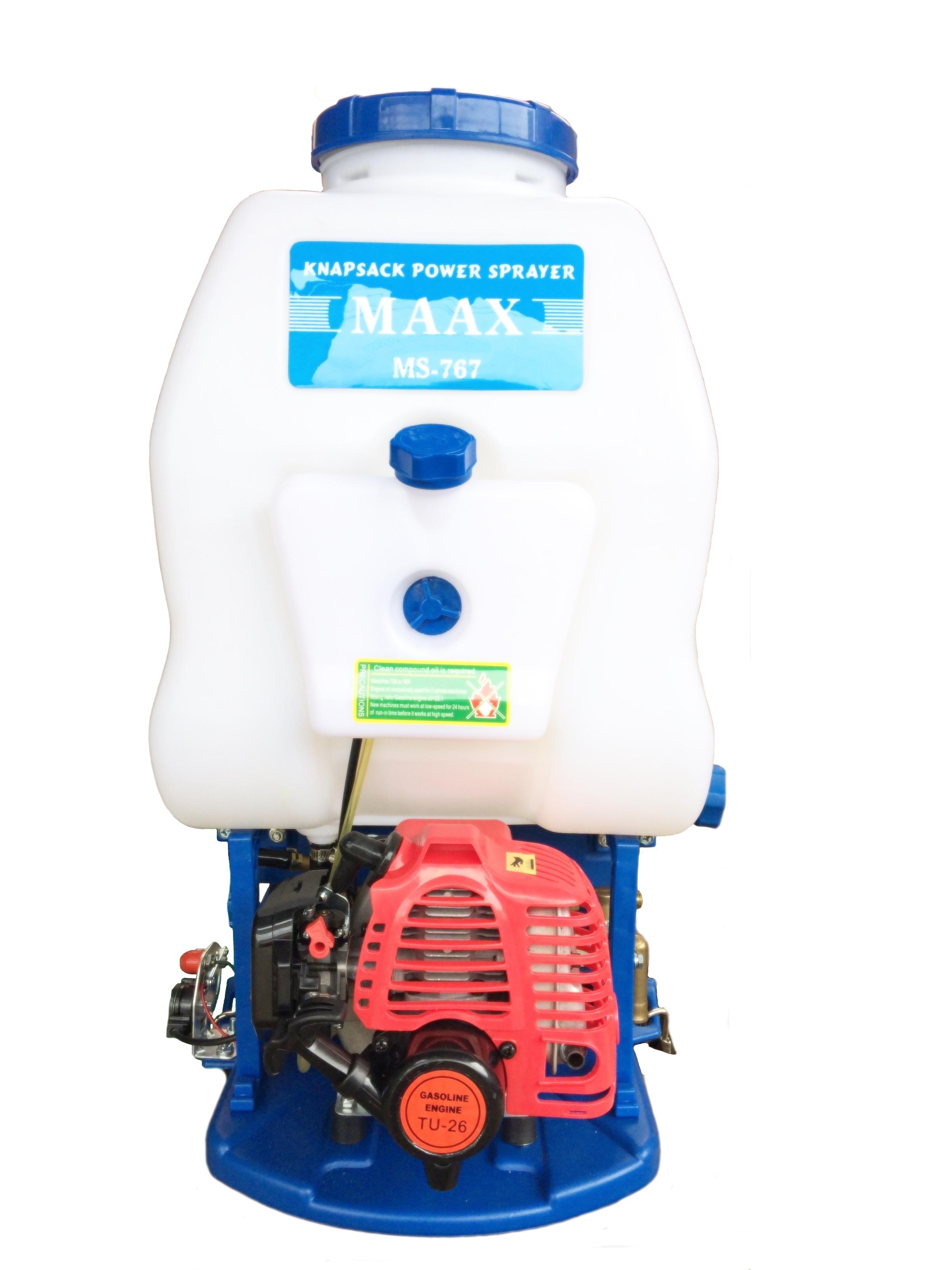KNAPSACK POWER SPRAYER - MS767L